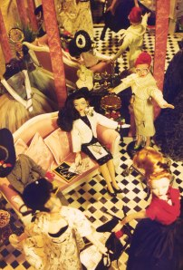 Christiana d'Amour Salon Diorama by Capitol Gene Club 1999