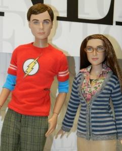 Tonner Big Bang Theory Dolls at 2014 Toy Fair