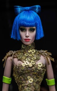 I am a fashion doll - hear me roar...