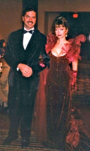 Marsha and me at the 1999 Gene Convention
