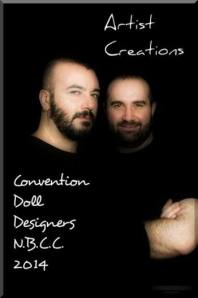 Artist Creations - Alessandro Gatti (right) & Giuseppe De Bellis (left)