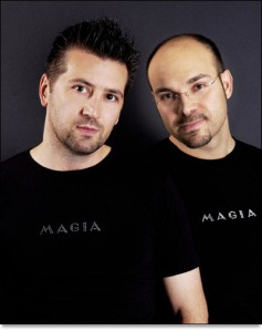 Magia 2000 - Mario Paglino (right) and Gianni Grossi (left)