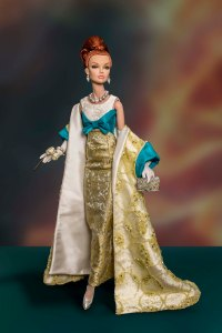 Cirque - One-of-a-kind Gown and Opera Coat by Tom Courtney - to fit 16inch Poppy Parker by Integrity Toys