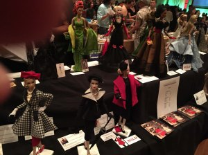 Halloween Fashion Bazaar Table - Couture Illustrated