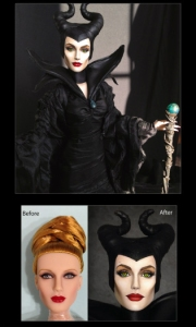 Maleficent by Shannon Craven of Flutterwing Dolls