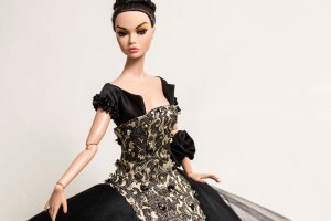 "Marquise OOAK Gown by Tom Courtney to fit 12"" Poppy Parker by Integrity"