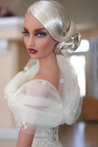Kingdom Doll Chaucer wearing OOAK gown 'Capricio' by Tommydoll – Photo: Marie Nido