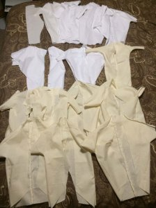 That's alot of muslin...