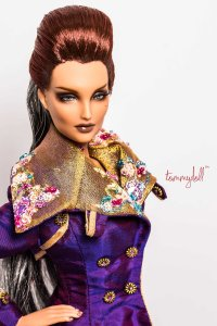 Der Kommissar OOAK Glam Trench by Tom Courtney for Kingdom's Doll's Brunel