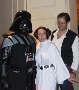 Don't ac so surprised, Your Highness - that's is Darth Tommy...