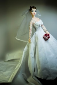One-of-a-Kind AMOUR Bridal Ensemble by Tommydoll to fit JAMIEhow's Gene Marshall