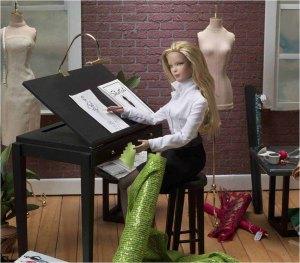 Tyler in her studio...