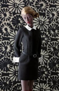 Ujjwala by RDGDoll wears Belle du Jour little black dress by Tommy doll, Photo: Ernesto Padró-Campos