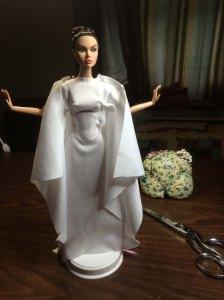 A new drape - or Princess Leia...you decide...