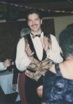 1994 - I was into waistcoats then...