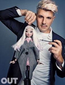 Joshua David McKenney and Pidgin (Photo: OUT Magazine)