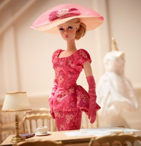 BFMC Fashionably Floral Silkstone Barbie by Mattel
