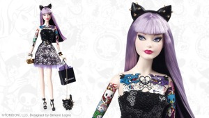 Tokidoki Barbie Platinum Edition - by Mattel (Photo: Mattel)
